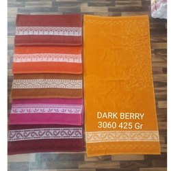 Dark Berry Cotton Towel