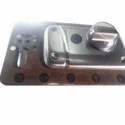 Stainless Steel Deadbolt Safety Door Lock, For Security, Chrome