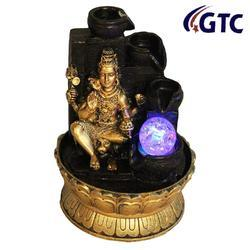 Lord Shiva Water Fountain Show Piece for Home Decorative Home Gifts - (ITN-7121B)