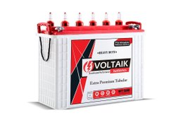 Voltaik 12V 120AH Tall Tubular Battery