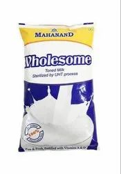 Mahand Pasteurized Mahanand Wholesome Milk, Packaging Type: Packet
