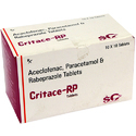 Aceclofenace and Paracetamol Rabeprazole Tablets