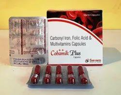 Mecobalamin Carbonyl Iron Folic Acid Vitamin B6 & Vitamin C Capsule