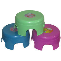 Colored Plastic Bath Stool