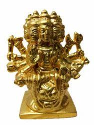 Gold Plated Gayatri Maa Statue