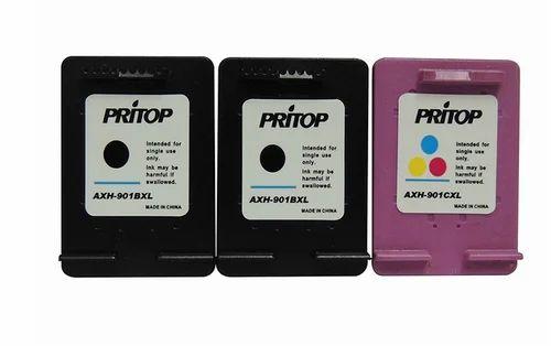 Ink Cartridge - Pritop 810-811 Xl 1 Black And 1 Color Ink