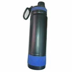 Black Plastic Cold Water Bottle, Capacity: 1-1.5L