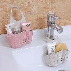 Sponge Soap Water Draining Silicone Hanging Holder