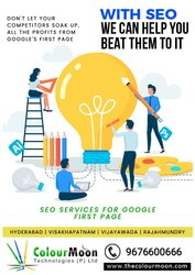 SEO For Your Business - Colourmoon Technologies, In Pan India
