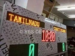 Electronic Digital Scoreboards