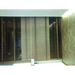 Wooden Window Venetian Blind, Thickness: 50 mm