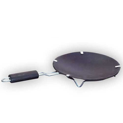 Earthen Non Stick Dosa Tawa (with Handle) (9 Inch)