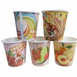 200 ml Printed Paper Cup, Packet Size: 100 Pieces