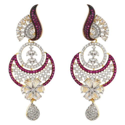 e6281942cc3857 Silveria Jewellers Party Ladies Trendy Hanging Earrings, Rs 3911 ...