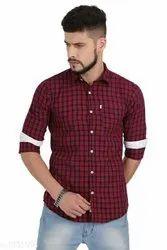 Sky Blue. Dark Blue.dark Red Shirts & T-Shirts Trendy shirts