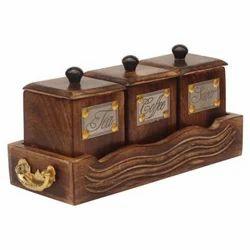 Coffee Tea Sugar Container Set