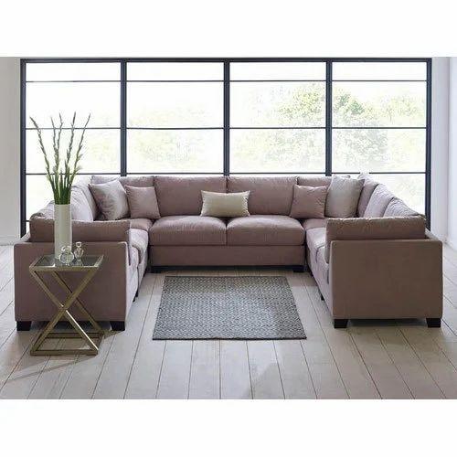 Captivating U Shaped Sofa Set