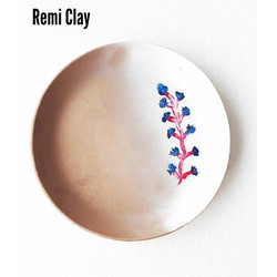 Clay Designer Serving Plate