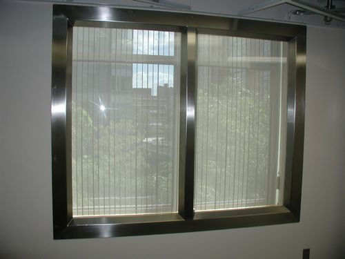 Rectangular Sterling Arch Stainless Steel Windows