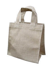 Small Jute Pouch - Handle