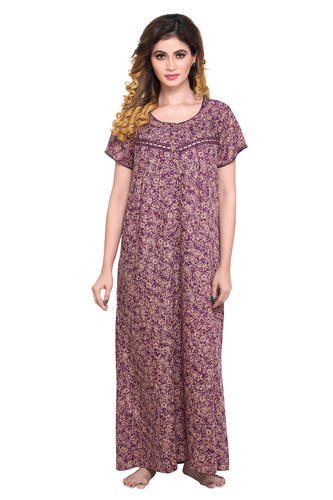 d41e0b1c1e35 Ladies Night Gown - Ladies Nightgown Exporter from Mumbai