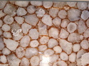 Flooring Crystal White with Gold Semi Precious Stone Agate Slabs, for Countertops, Thickness: 20 mm