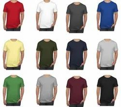 Mens Plain Cotton T Shirts