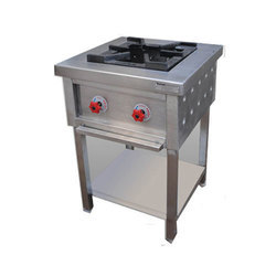 Stainless Steel Single Burner Gas Range