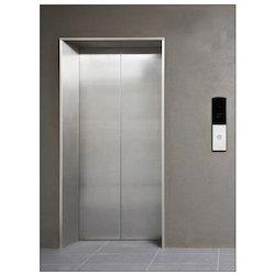 Standard Aluminium Stainless Steel Elevator Door, Telescopic