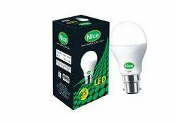 Cool Daylight Nice 12 Watt B22 Cool Day Light LED Bulb BIS APPROVED, 11 W - 15 W