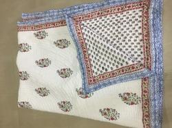 Jaipuri Famous Hand Block Printed Quilted Quilts