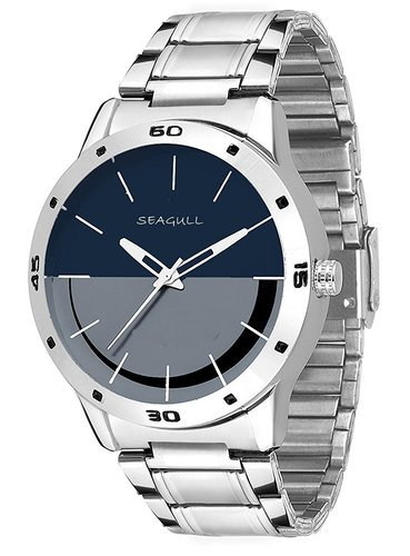 d589661501d Seagull Fashion Analogue Silver Colour Men s Watch (SGW-40 ...