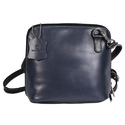 Blue Ladies Leather Hand Bag