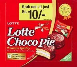 Chochlate Round Lotte Choco Pie Monopack Mrp 180/-, Packaging Type: Packet