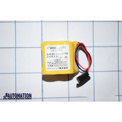 Panasonic BR-2/3AGCT4A 6V CNC Machine Battery, Capacity: 2400 Mah