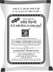 DK Herbal Heena Black Mehndi Color for Parlour, Pack Size: 50 g
