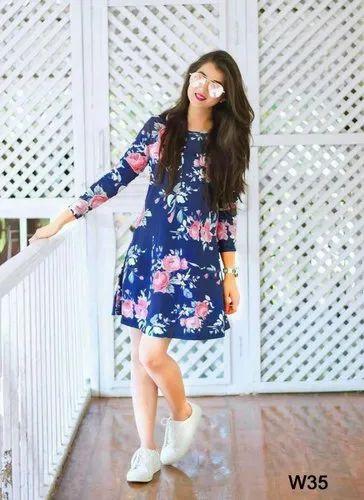 Girls Casual Wear Designer Western Wear Dress Rs 695 Piece Omanksh Fashion Id 20945150588