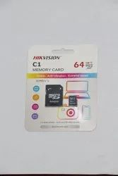 64 GB Memory Card Hikvision Class 10 for WiFi Camera