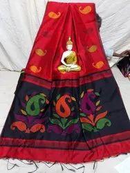 Premium quality cotton silk handloom saree
