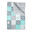 Soft Cotton Printed Machine Quilted Baby Quilt