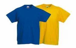 18-55 Men Kids Round Neck T Shirt, Quantity Per Pack: 50