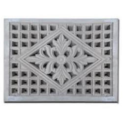 Cement Window Grill