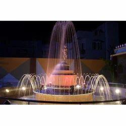 Programmable Statue Fountain