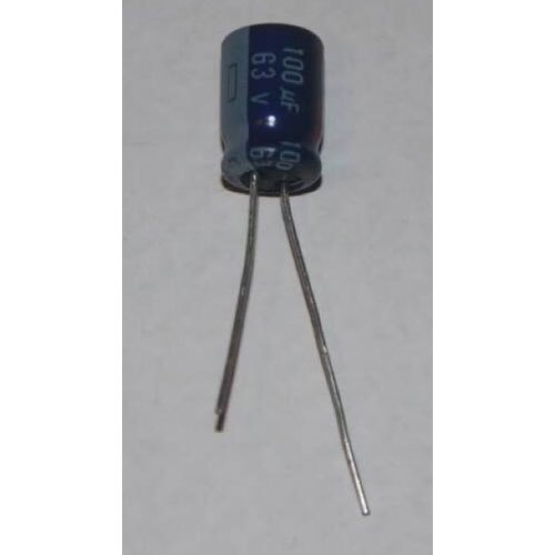 100 Micro Farad 63 V Power Capacitor, 50 Hz, For Electronic