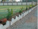 Cement Block Garden Curbing