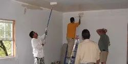 Living Room Interior Wall Painting Service, Location Preference: Local Area, Type Of Property Covered: Residential