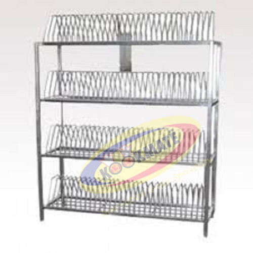 Stainless Steel Plate Rack  sc 1 st  IndiaMART & Stainless Steel Plate Rack Storage Rack | Maduravoyal Chennai ...