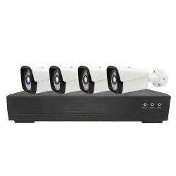 Analog/Wired 2 MP CCTV Bullet Camera Set, 1280 x 720, Camera Range: 10 to 20 m