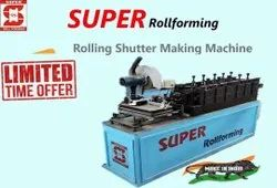 Rolling Shutter Patti Machine