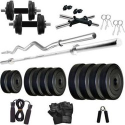 Multi Use Personal ISG 10kg 3ft Straight And Curl For Home Gym, For Household, Model Name/number: Isg-gym-10kg-str-curl